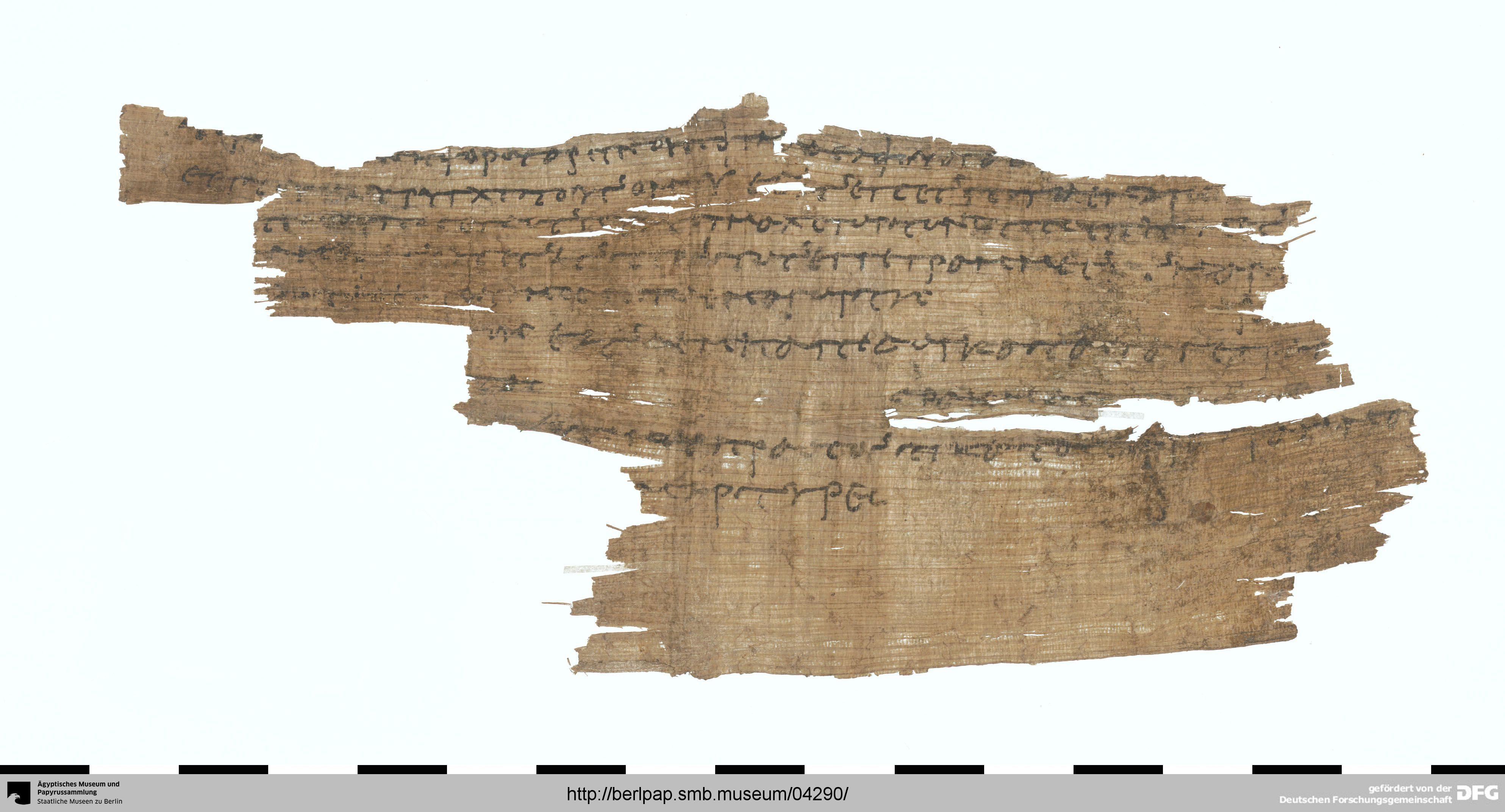 04290 Berliner Papyrusdatenbank